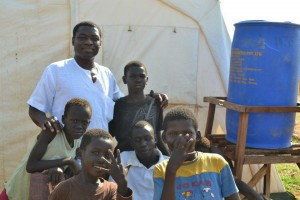 Pastor Alex's visit to  UN refugee camp.